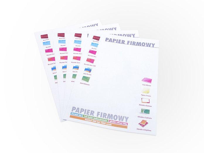Papier firmowy – zbuduj spójny wizerunek swojej firmy