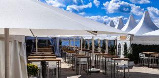 Namioty gastronomiczne