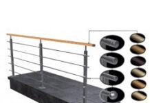 Rury ze stali nierdzewnej idealne dla balustrady do samodzielnego montażu